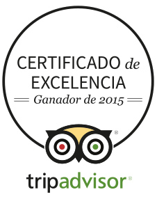 Tripadvisor certificado 2015