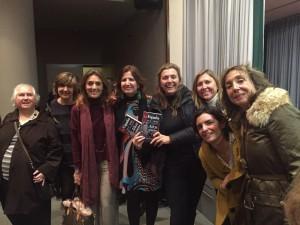 ONCE 14-01-16 Amigas Paca con María Estrella