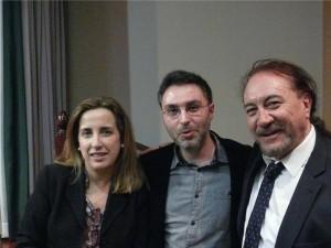 ONCE 14-01-16 Pilar, Raúl y Alberto