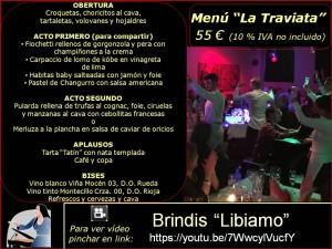 Menús grupos (2017) La Traviata 55 €